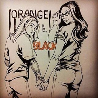 Love seeing all your awesome #fanart! #oitnb #vauseman #alexvause #piperchapman…