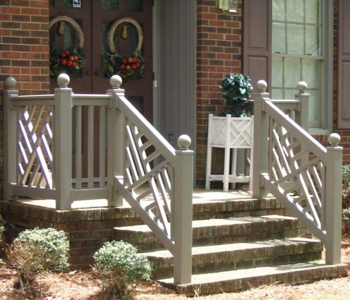Chippendale Railing Outdoor Ideas Pinterest Porch