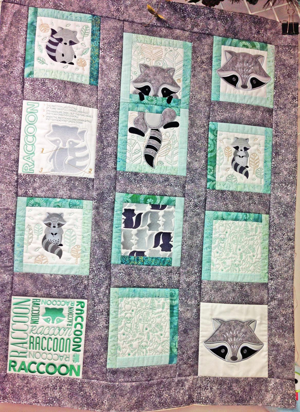 Raccoon Quilt From The Book Anita S Playhouse Anita