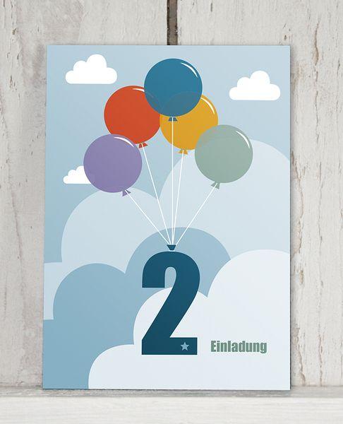 Einladung 2 Geburtstag Von Kleine Kerle Auf Dawanda Com 2