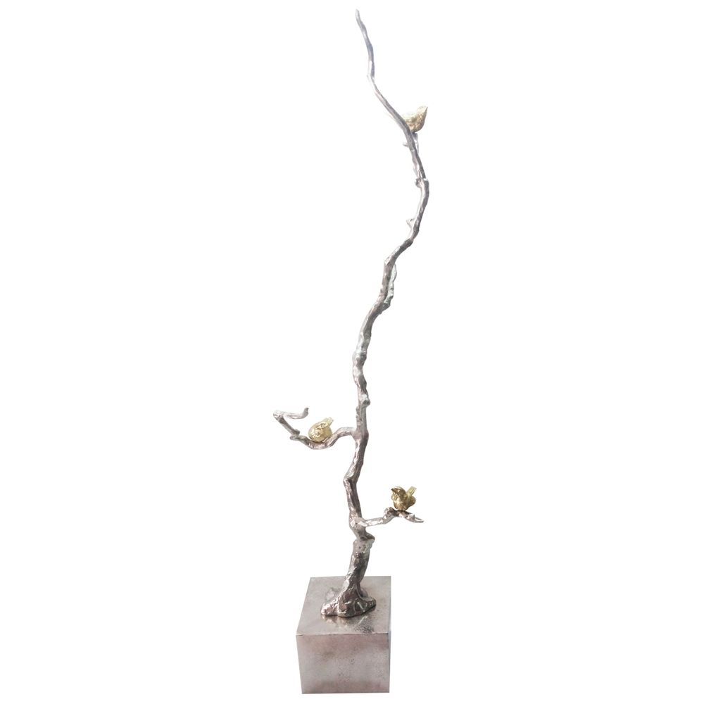 Solikka Tall Tree Branch 37 High Aluminum Sculpture 1n313 Lamps Plus A B Home Modern Decor Accessories Gold Branches