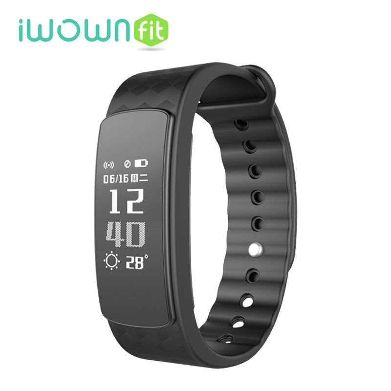 Iwownfit I3 Smart Band Message Notification Phone Call Remind Pedometer Sleep Tracker