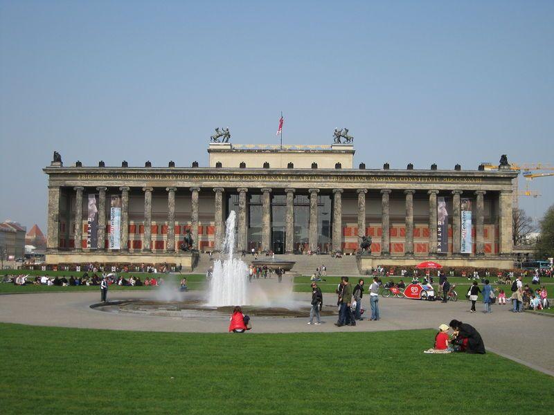 Altes Museum Berlin Karl Friedrich Schinkel Arquitetonico Arquitetura
