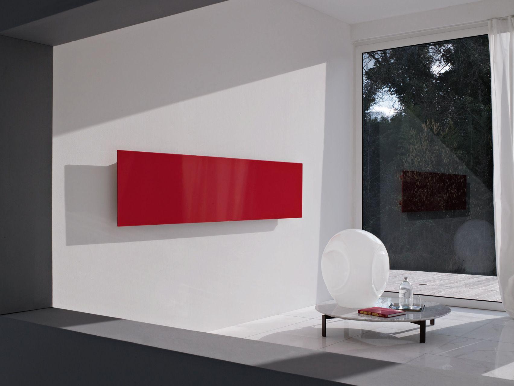 SQUARE Radiador decorativo horizontal by Tubes Radiatori diseño Ludovica+Roberto Palomba