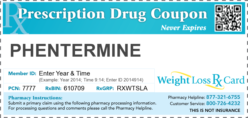 free phentermine coupon