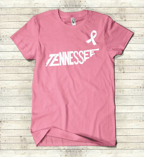 Tennessee Breast Cancer Awareness Stately by TheStatelyShirtCo