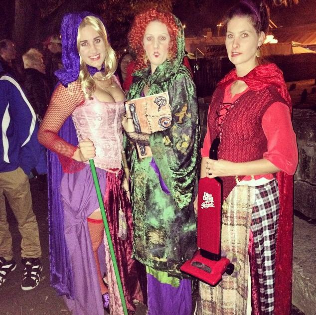 Hocus Pocus costumes. DIY Sanderson Sisters costumes. Look at those details  sc 1 st  Pinterest & Hocus Pocus costumes. DIY Sanderson Sisters costumes. Look at those ...