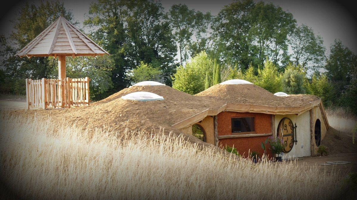 Cabane Hobbit cabane hobbit | cabanes | pinterest | hobbit