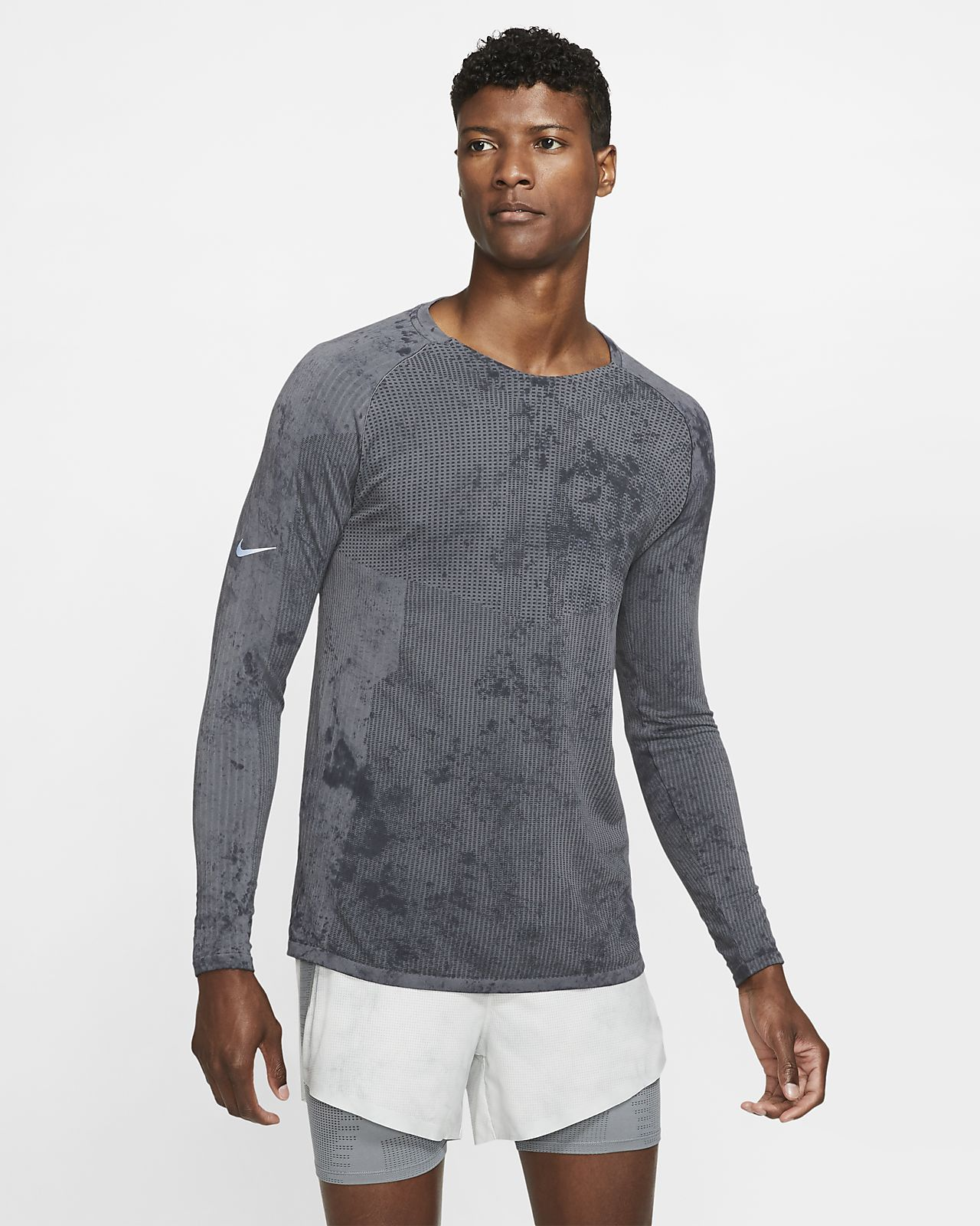 Tech Pack Men's LongSleeve Running Top Nike tech, Tops