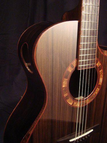 Build Thread Stehr African Blackwood Sinker Auditorium Acoustic Guitar Cool Guitar Guitar Lessons Fingerpicking