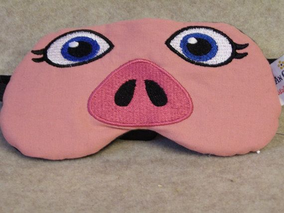 ce55eed5589 Embroidered Eye Mask for Sleeping