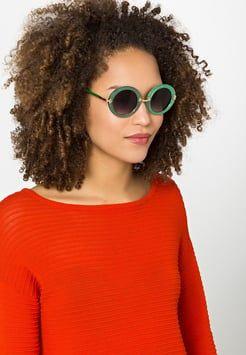 Jeepers Peepers - Gafas de sol - green glitter