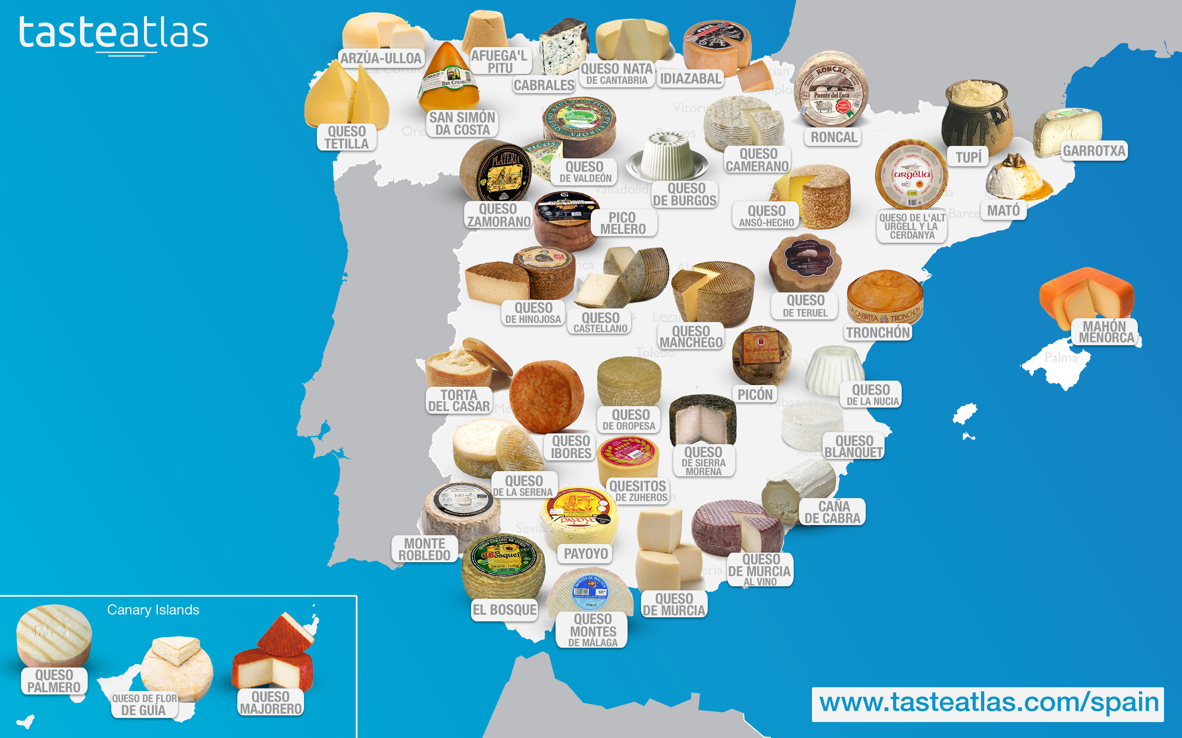 Spanish Map Of Spain.Spain Cheese Map In 2019 Cheese From Around The World Spanish