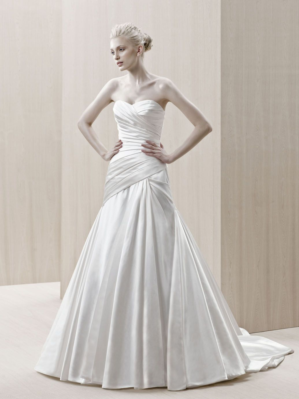 Enzoini size ivory wedding gowns size pinterest weddings