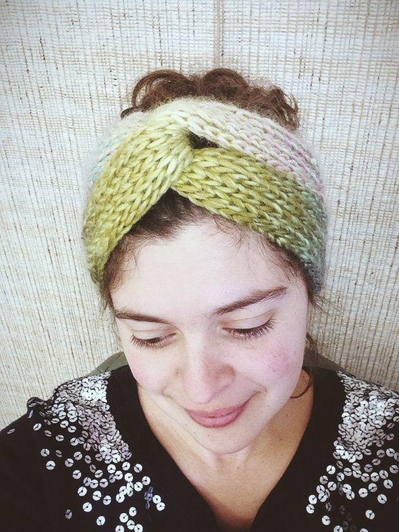 Brioche Turban | Free Knitting Pattern from Alaska Knit Nat