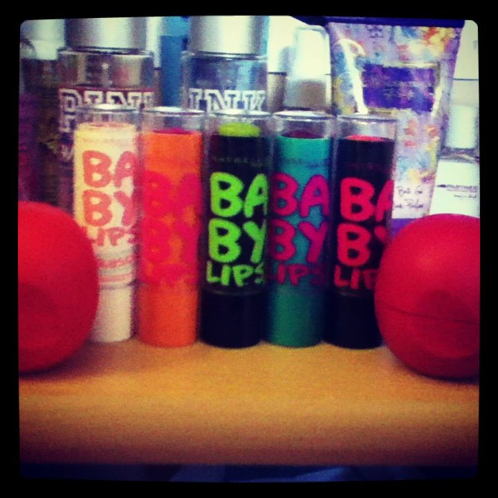Love a babylips and eos