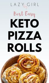 Best Easy Keto Pizza RollsEasy