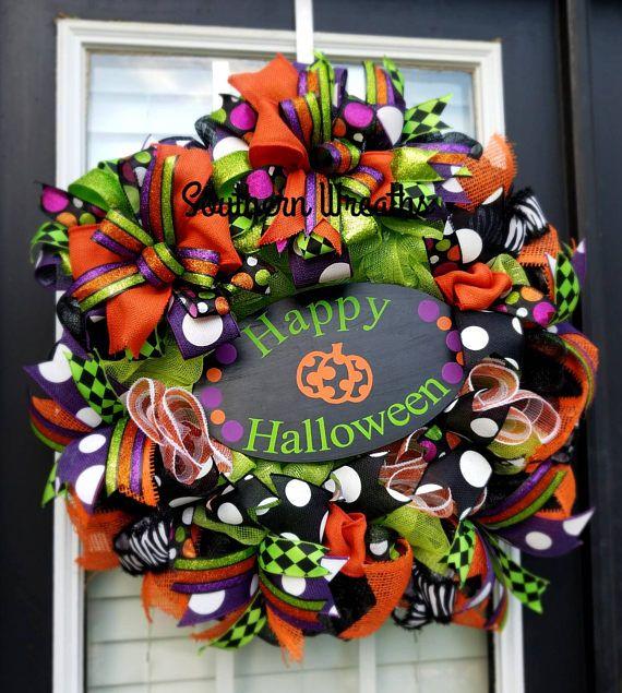 14+ Happy Halloween Wreath DXF