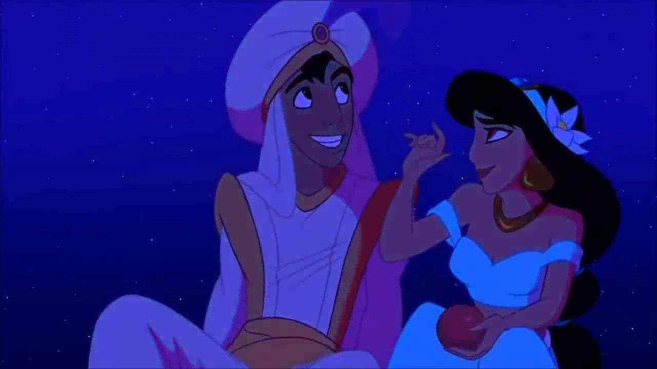 Aladdin And Jasmine First Kiss Disney Aladdin Aladdin Wallpaper