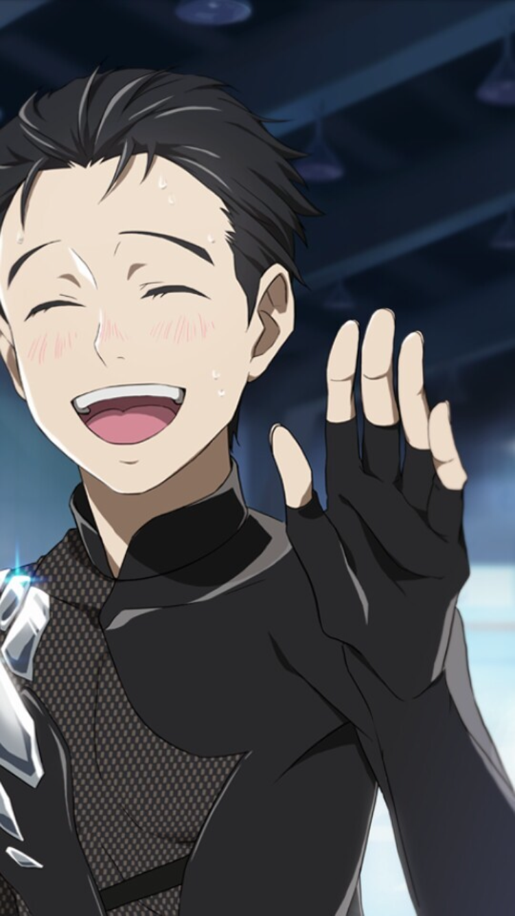 Pin By Jennifer On Things That Make Me Happy Yuri On Ice Yuri Katsuki Yuuri Katsuki