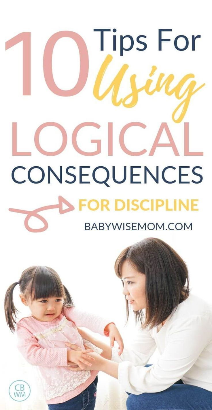 10 Guidelines for Using Logical Consequences #discipline
