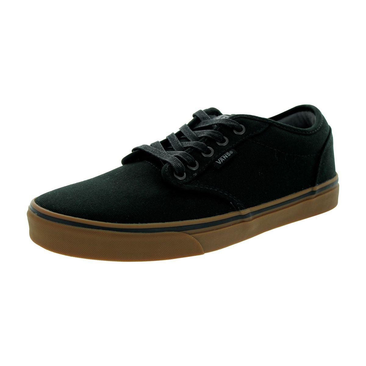 vans atwood black gum mens