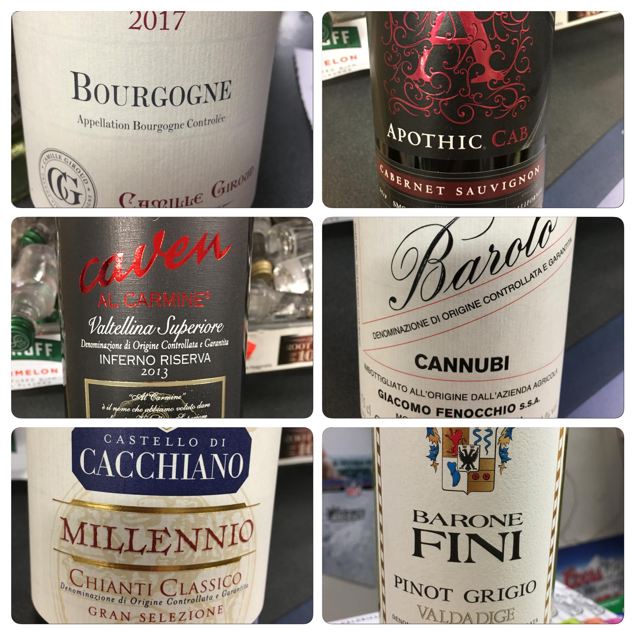 New Wines In Stock! wine thewonderfulworldofwine