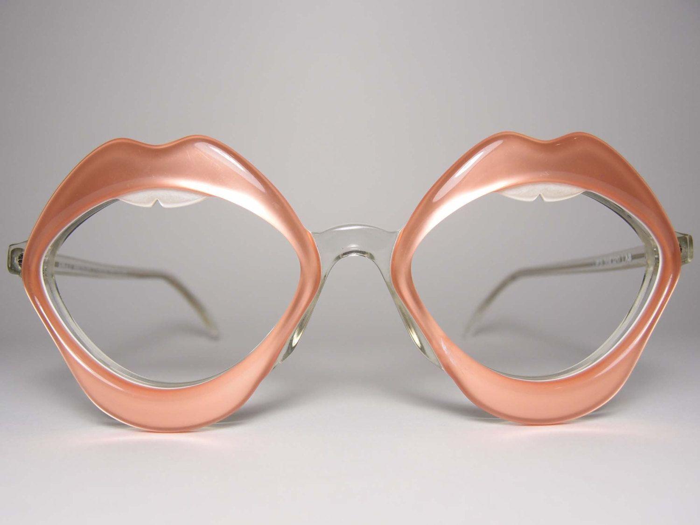 Vintage Anglo American Eyewear Lips 80\'s Extravagant Novelty ...