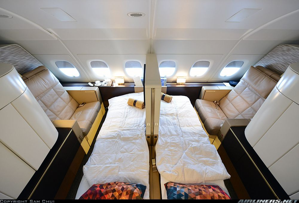 Etihad Airways Airbus A380 Double First Class Apartment Suite With