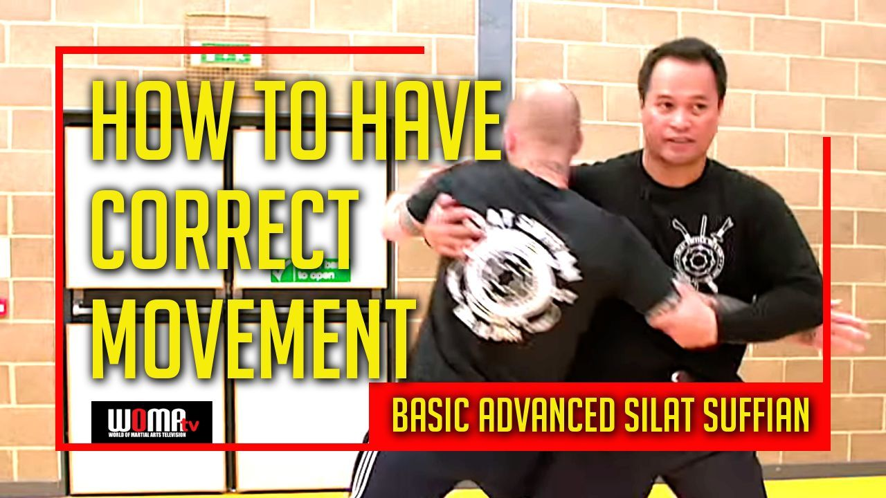 How to have correct movement 1 in basic advanced silat