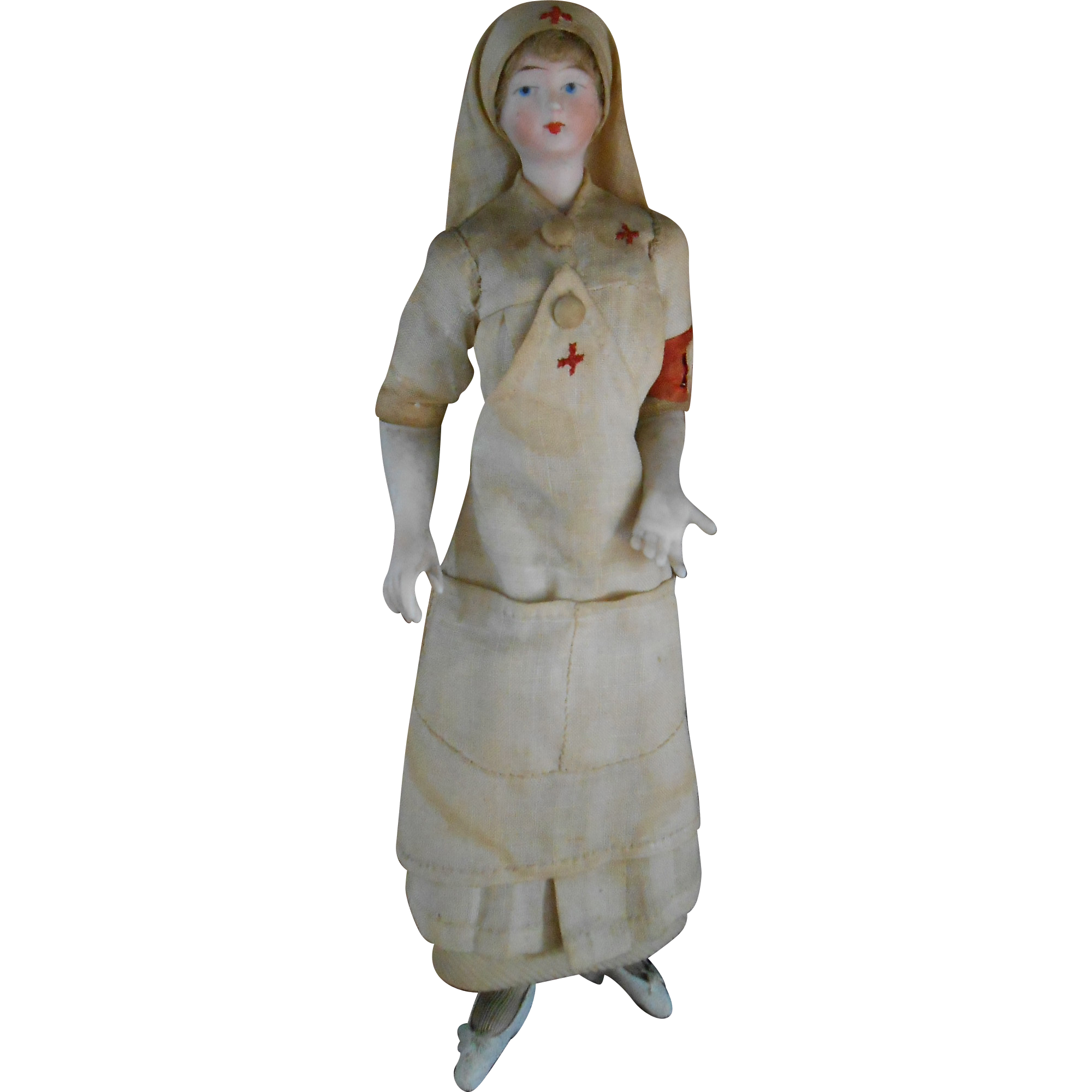French dollhouse Nurse doll (8\