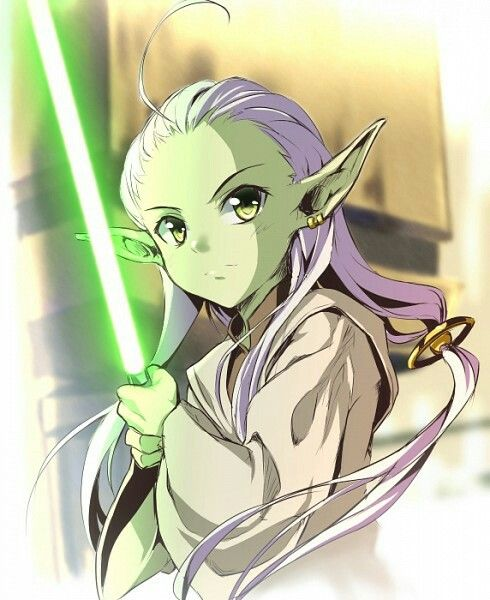 Omg Female Yoda Can We Talk About How Cool This Is Star Wars Species Star Wars Images Star Wars Characters