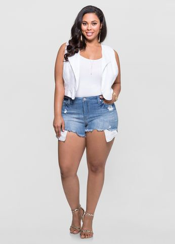 shorts for women with curves