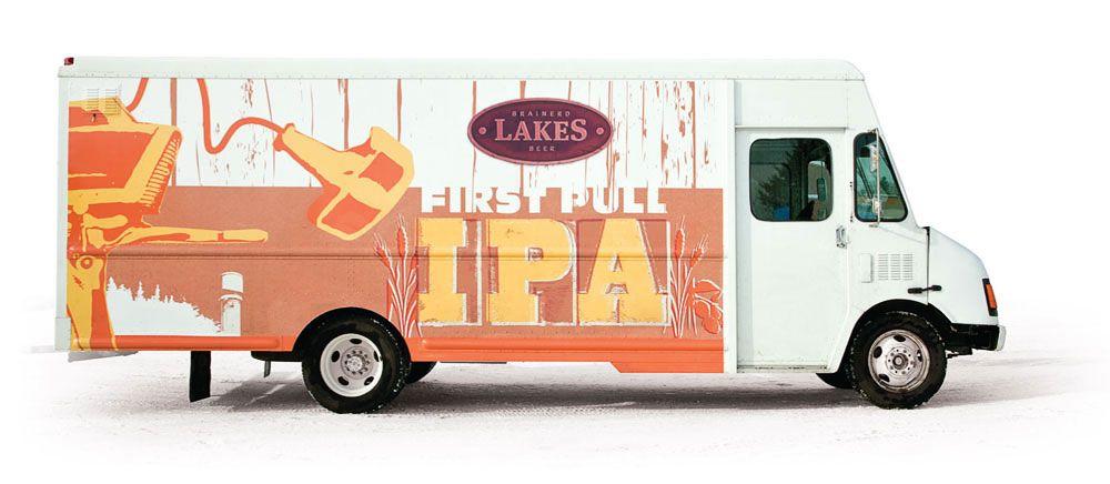 Brainerd lakes beer beer beer packaging vehicles
