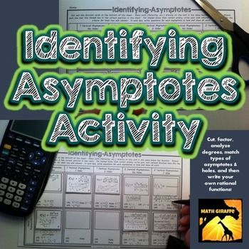 Identifying asymptotes activity rational function activities categorizing rational functions identifying vertical asymptotes horizontal asymptotes slant asymptotes and holes ccuart Image collections