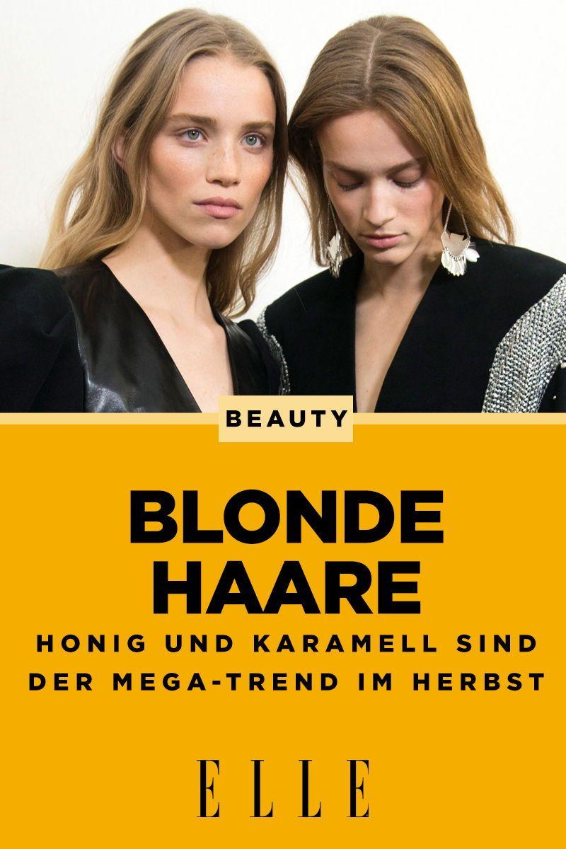 Blonde Haare: Warme Farben in Honig und Karamell sind jetzt