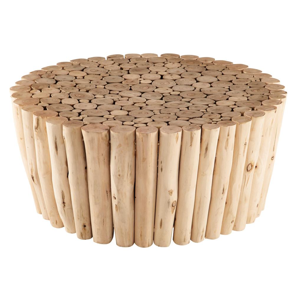 CanapéCanapé En Eucalyptus De Wood Décor Side TableHome Bout 543RjLA