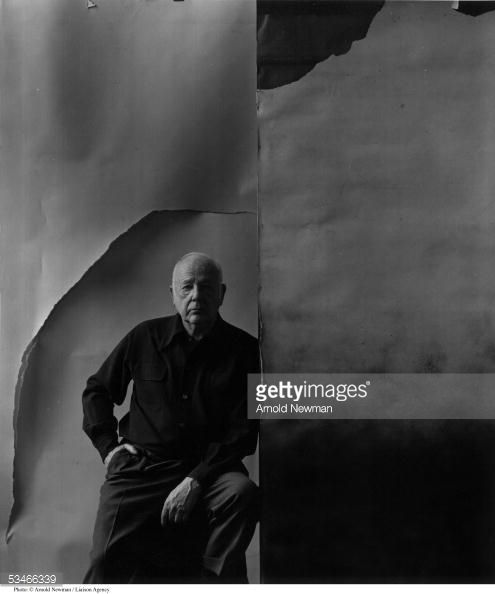 Paul Strand photographed by Arnold Newman, photographer, New York, 1966