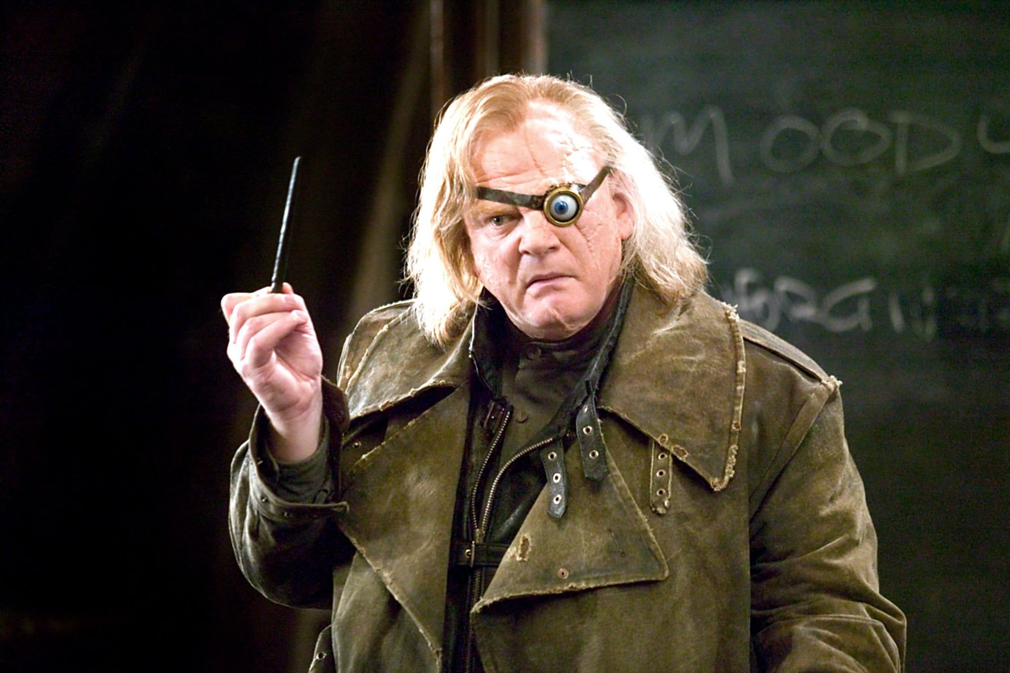 This Overlooked Harry Potter Detail Reveals So Much About Mad Eye Moody Moody Harry Potter Brendan Gleeson Harry Potter Sign