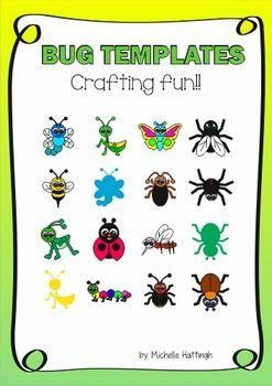 Bug templates | @kids | Pinterest | Praying mantis and Template