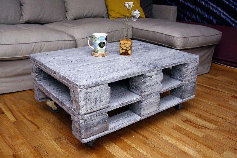 Paletowystolikdomowy Stolik Kawowy Z Palet Eur Pallet Diy Pallet Furniture Interior