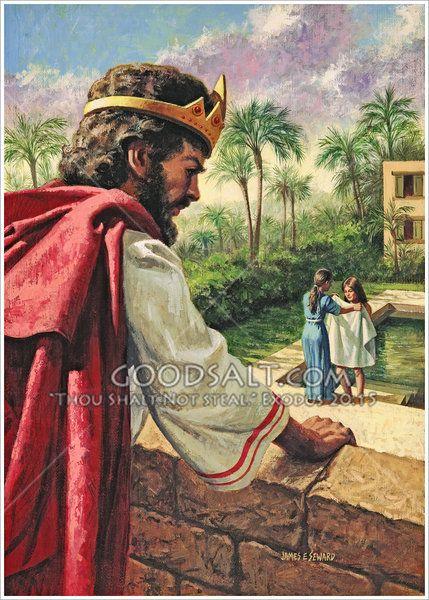 david and bathsheba essay David and bathsheba: sin, cover-up, condemnation, and restoration a four- part biblical study of grace and healing.