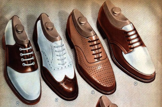 How To Dress 1940s Style For Him The Life Nostalgic Vintage Shoes Oxford Shoes Men Dress Shoes