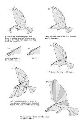 Papiroflexia para tod s aguila oh my origami - Papiroflexia paso a paso ...