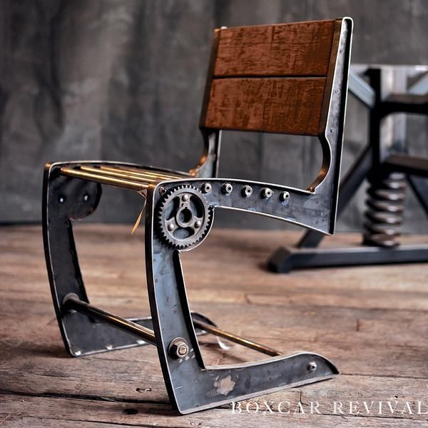 Zephyr Chair #industrialstyle #industrial #industrialchair ... options and features Take note: these are just some of the industrial furniture pieces that will not only help make your workplace more efficient - b...-the more productive you are bound to be. Accordingly this will also reduce stress at the workplace providing other benefits as well.Here are some e #gallery.dudleybydesign.com #industrial-furniture-chair #industrial