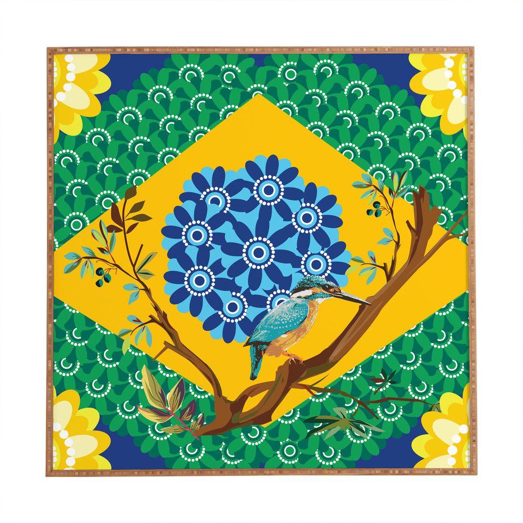 Juliana Curi Brazil Flag Framed Wall Art | Brazil flag, Framed wall ...