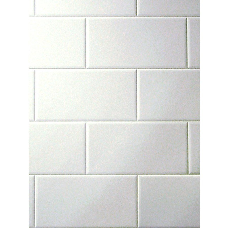 Shop FashionWall Metroliner Tempered Hardboard Tileboard at Lowe\'s ...