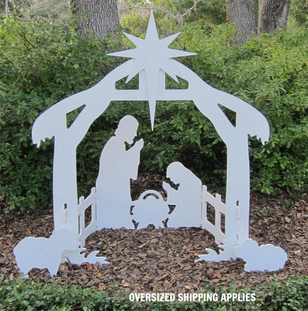 50 Marine Grade Outdoor Nativity Silhouette Outdoor Nativity Sets Outdoor Nativity Christmas Yard Art