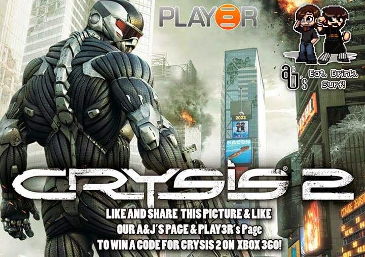 Win Crysis 2 for the Xbox 360 | All kinds of Giveaways in one place