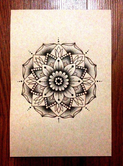 Mandala Tattoo Flash | Tumblr
